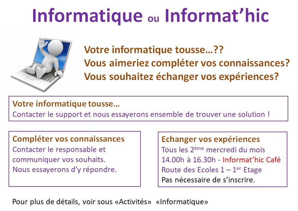 Informatique - Informat'hic