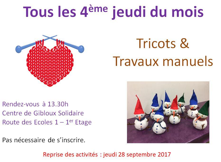 Tricots & Travaux manuels